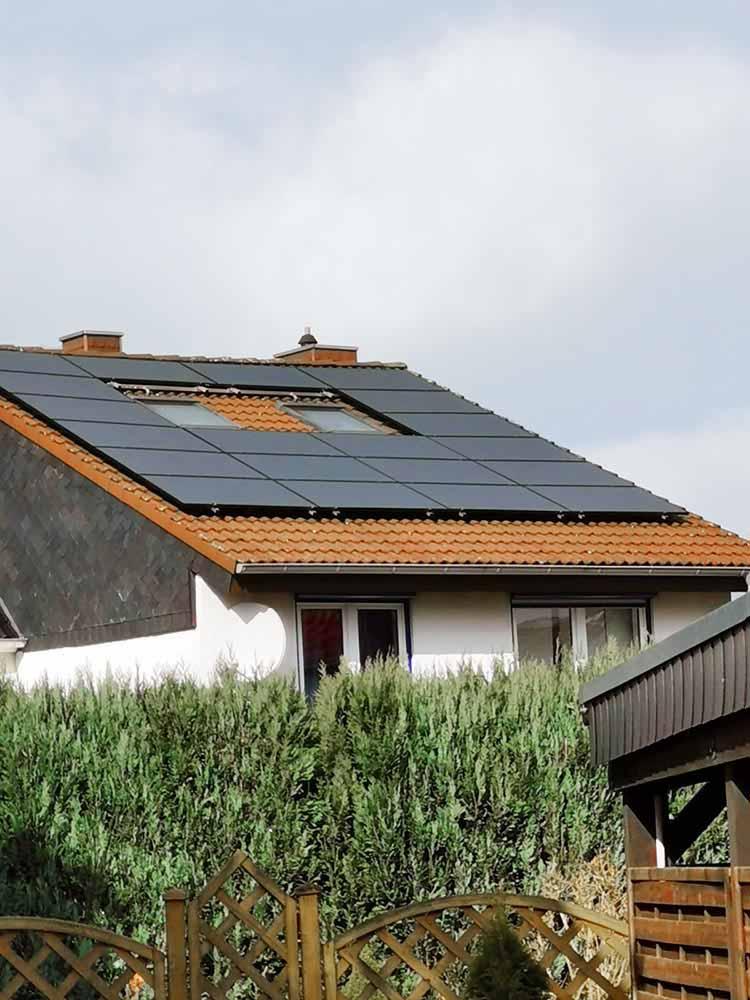Peter Solarstrom OWL | Referenzen | Photovoltaikanlage